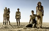 "This photo provided by Warner Bros. Pictures shows, from left, Abbey Lee as The Dag, Courtney Eaton as Cheedo the Fragile, Zoe Kravitz as Toast the Knowing, Charlize Theron as Imperator Furiosa and Riley Keough as Capable, in Warner Bros. Picturesí and Village Roadshow Picturesí action adventure film, ìMad Max:Fury Road,"" a Warner Bros. Pictures release. (Jasin Boland/Warner Bros. Pictures via AP) ORG XMIT: CAET486"